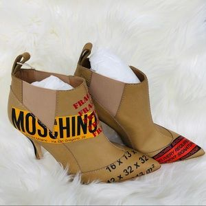 New: MOSCHINO Booties